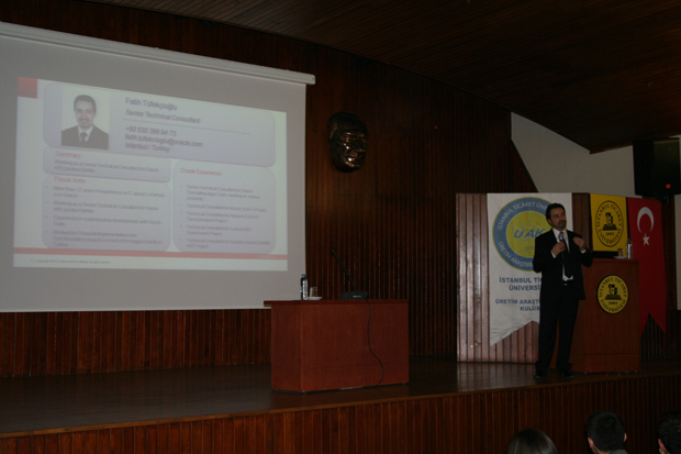 Fatih_Tufekcioglu_Oracle_Event_Istanbul_Ticaret_Universitesi