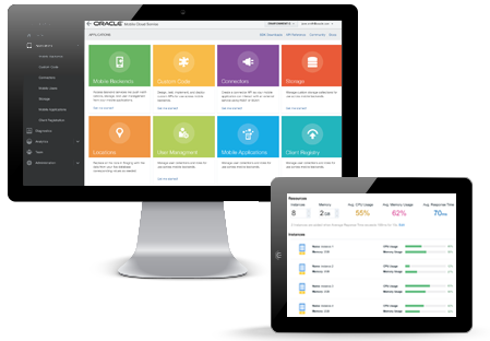 Oracle Bulut Servisleri - Uygulama Gelistirme - Application Development Cloud